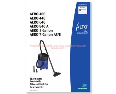 Aero 400 440 640 840 Aero 5 Amp 7 Models