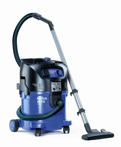 Attix 30 (8 gallon) Autostart/Electric Super Quiet Wet/Dry Vacuum on