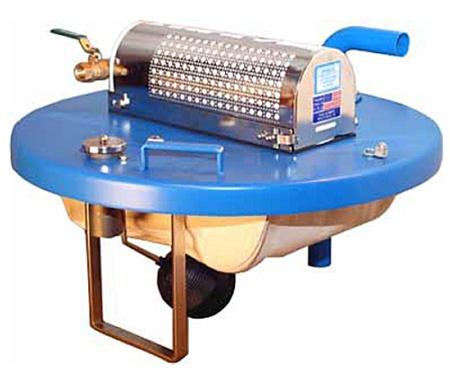 Drum Top Pneumatic Air Powered Vacuum Fits 55 Gallon Drums